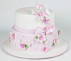 It features the Sweet Tiers signature blossoms and a cascade of hand painted butterflies, finished off with a sugar bow. Description from sweettiers.com.au. I searched for this on bing.com/images