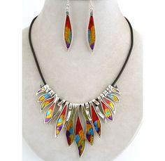 Multicolor Silver Jewelry