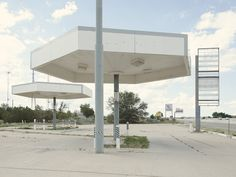 Iñaki Bergera Photography: gasstation25 Gas Station, Abandoned, Travel Inspiration, Pergola, Outdoor Structures, Patio, Places, Outdoor Decor, Photograph