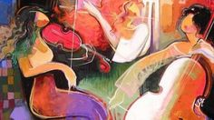 Daveed ~ Tango and Irene Sheri - paintings