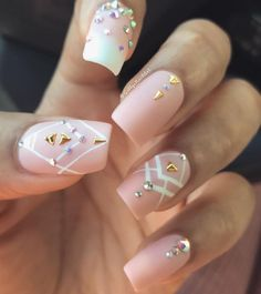 82 Glitter Nail Art Designs by Gabby Morris - Cool Fashion Accessories