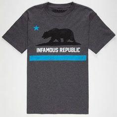 INFAMOUS Cali Life Mens T-Shirt