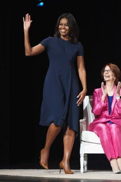 Michelle Obama at the Girls Learn Conversation in New York, September, 2015