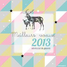 carte de voeux / Best wishes / season's greetings