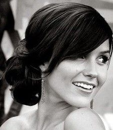 Chic and sleek updo