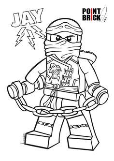 disegni da colorare lego ninjago jay master of lightning clicca sullimmagine - Lego Ninjago Coloring Pages