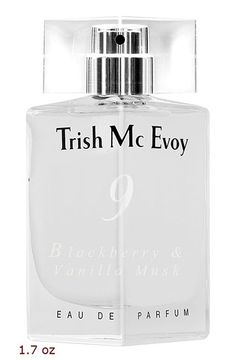 Trish McEvoy 'No. 9 Blackberry & Vanilla Musk' Eau de Parfum at Nordstrom.com. Discover 'No 9 Blackberry and Vanilla Musk,' a spicy-sweet, warm, playful scent that combines juicy blackberry buds, rich vanilla and sensuous velvet musk with white rose and cashmere woods.