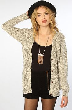 #misskl #springtimeinparis MINKPINK The Cable Guy Cardigan : MissKL.com - Cutting Edge Women's Fashion, Accessories and Shoes.