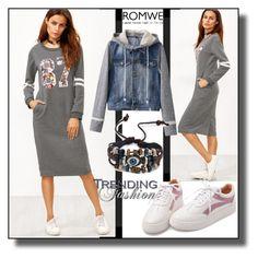 Romwe - XVI/5 by dzemila-c on Polyvore featuring polyvore fashion style clothing romwe