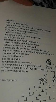 """Rupi Kaur """"O que o sol faz com as flores"""" #livros Rupi Kaur, Text Quotes, Lyric Quotes, I Am Sad, Love Yourself First, Some Quotes, My Heart Is Breaking, Believe In You, Positive Vibes"""