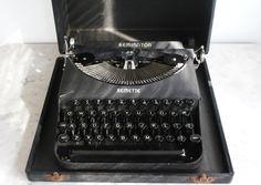 Vintage Remington Remette Typewriter.