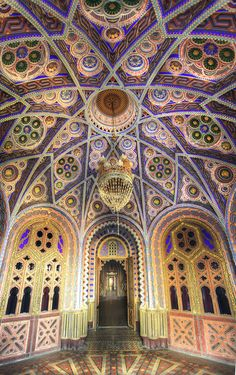 The abandoned castle - Castello di Sammezzano, , province of Florence , Tuscany,  Italy