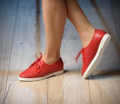 Pantofi Casual Fit Red
