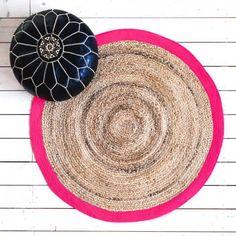 Round Pink Rug