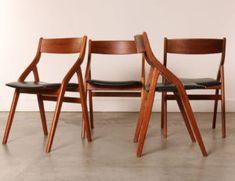 Danish Teak Folding Chair