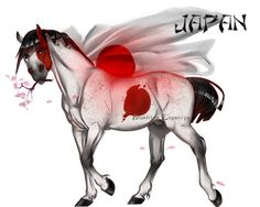 Horse Hetalia: Japan by MUSONART