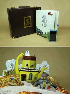 Des pages qui surgissent des livres...Toute la magie du pop up!