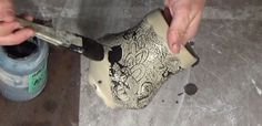 Ceramic Arts Daily – How to Use Wax Resist and Underglaze for Fine-Line Inlaid Decoration