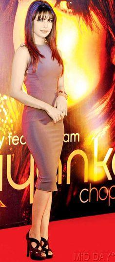 Priyanka Chopra at her music event. #Bollywood #Fashion