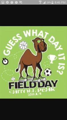 Field day School Tshirt Designs, Field Day, Pta, T Shirt, Fictional Characters, Supreme T Shirt, Tee Shirt, Fantasy Characters, Tee