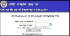Cbse Board Result  Central Board Of Secondary Education Is