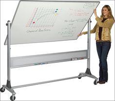 Large Whiteboard On Wheels