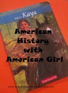 American history with american girl- Kaya. Nez Perce. 1764. #homeschool #lapbook