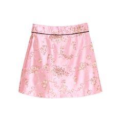 チャイナ台形スカート 「BUBBLES ONLINE STORE【バブルス公式通販サイト】」 ❤ liked on Polyvore featuring tops, bottoms, skirts, pink top and bubble top