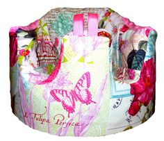 Home of the Orignial Bumbo Seat COVER in Michael Millers Belle Rose in Pink