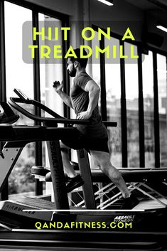 High-Intensity Interval Training is a great way to improve cardio and burn calories. It can be done just about anywhere, with or without equipment. Learn how to do HIIT on a treadmill here - QandA Fitness - #fitness #hiit #treadmill #workouts Hiit, Cardio, Circuit Training, High Intensity Interval Training, Burn Calories, Treadmill, Burns, Learning, Fitness