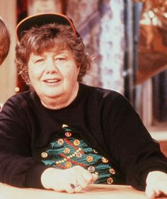 """Shelley Winters -- (8/18/1920-1/14/2006). American Actress. She portrayed Nana Mary on TV Series """"Roseanne"""". Movies -- """"The Diary of Anne Frank"""" as Petronella van Daan, """"Lolita"""" as Charlotte Haze-Humbert, """"Alfie"""" as Ruby, """"The Poseidon Adventure"""" as Belle Rosen, """"Next Stop, Greenwich Village"""" as Fay Lapinsky, """"The Night of the Hunter"""" as Willa Harper, """"A Place in the Sun"""" as Alice Tripp, """"Jury Duty"""" as Mom, """"Gideon"""" as Mrs. Willows. She died of Heart Failure, age 85. Born: Shirley Schrift."""