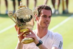 The Great Scot Andy Murray Wins The Championships Wimbledon 2013!! In straight sets, Andy dominated Nole Djokovic 6-4, 7-5, 6-4 to win his 2nd Major Title & 1st Championships Wimbledon. The last man from the United Kingdom to win it was Fred Perry, 1936.