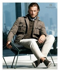 Gabriel Aubrey & Zhao Lei by Stefan Armbruster for Hugo Boss Selection Spring/Summer 2012 Campaign