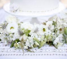 Floral Garlands, Garden on the Square #wedding #southernwedding