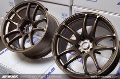 Concave Work wheels matte bronze