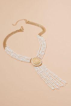 Slide View: 1: Collier de perles chandelier
