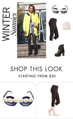 """Winter Sunnies"" by westcoastcharmed ❤ liked on Polyvore featuring Kenzo, Forever 21 and wintersunnies"