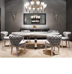 Dining room design ideas #moderndesign #diningroomdesign #closetdesign luxury homes, modern interior design, interior design inspiration . Visit www.memoir.pt