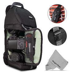 DSLR Sling Camera Bag Case Shoulder Backpack for Canon EOS 750D 700D 600D 100D