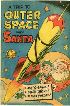 1952 Outer Space with Santa