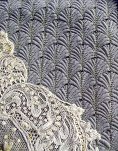 Detail of quilted background by Cindy Needham