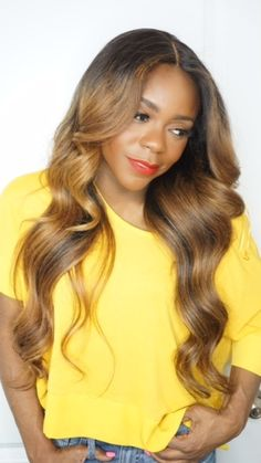 Color:1B to a color redish blonde ( Has highlights and lowlights)Volume: High (6 bundles)TOP: This peruca has a 13'' x 4'' frontalTexture:StraightLength:24 InchesIMPORTANT: Color may vary slightly.This Peruca is a medium volume, easy to style unit. The frontal allows you to part in the middle, on the side or as a ninja bun and many more. Same Peruca countless easy styles. We have attached flexible combs and elastic bands for added security and confidence.