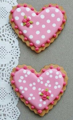 Polka dot #hearts