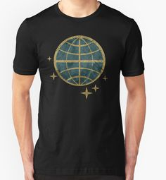 """Earth and Stars V01"" T-Shirts & Hoodies by Lidra 
