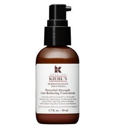 Kiehl's Powerful-Strength Line-Reducing Concentrate - I use this vitamin C-rich serum morning and night, right after cleansing (and toner if it's night time) to combat wrinkles.