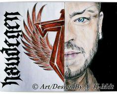Sven Gillert von Haudegen gezeichnet von mir /Art Design  by A. Mdt