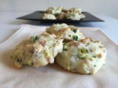 #ricettebloggerriunite #focaccine con #speck e #zucchine