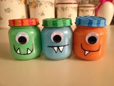 monster first birthday party | Little monster 1st birthday party! Made these cute little monster ...
