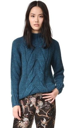 Otto d'ame Cable Knit Sweater | SHOPBOP