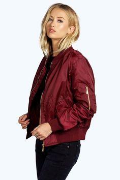 6d315e65 Khloe MA1 Bomber Jacket #jacket Bomber Jacket Outfit, Burgundy Bomber Jacket,  Flight Bomber